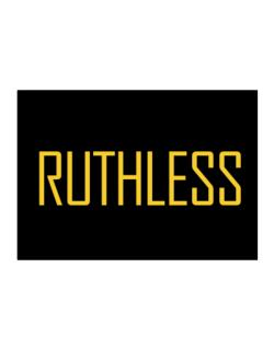 Ruthless - Simple Sticker