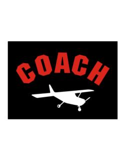 """ Aerobatics COACH "" Sticker"