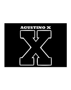 Agustino X Sticker