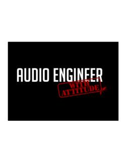 Audio Engineer With Attitude Sticker