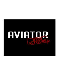 Aviator With Attitude Sticker