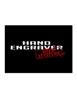 Hand Engraver With Attitude Sticker