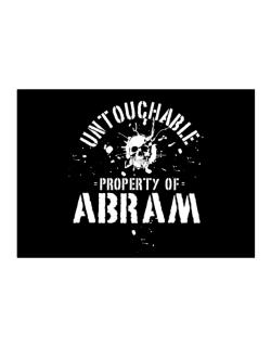 Untouchable : Property Of Abram Sticker