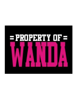 Property Of Wanda Sticker