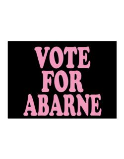 Vote For Abarne Sticker