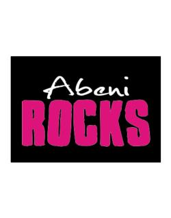 Abeni Rocks Sticker