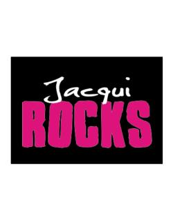 Jacqui Rocks Sticker