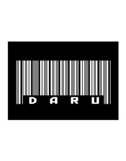 Daru - Barcode Sticker