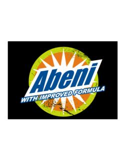Abeni - With Improved Formula Sticker
