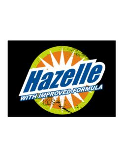 Hazelle - With Improved Formula Sticker