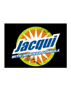 Jacqui - With Improved Formula Sticker