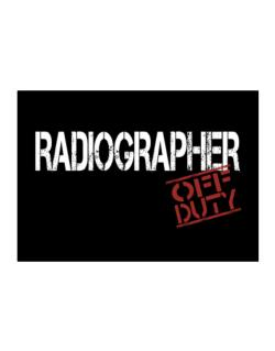 Radiographer - Off Duty Sticker