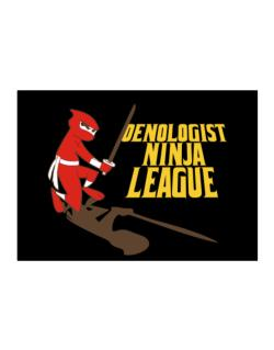 Oenologist Ninja League Sticker