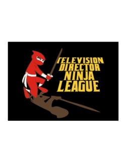 Television Director Ninja League Sticker