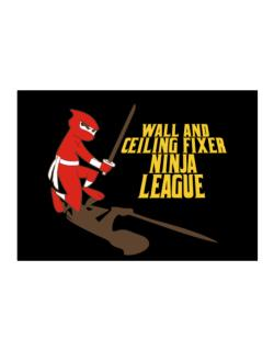 Wall And Ceiling Fixer Ninja League Sticker