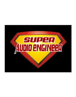 Super Audio Engineer Sticker