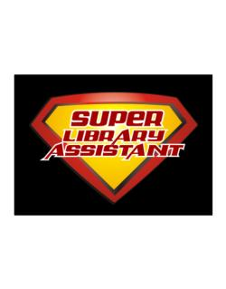 Super Library Assistant Sticker