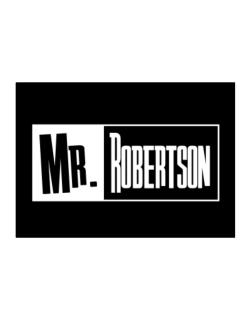Mr. Robertson Sticker