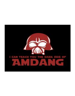 I Can Teach You The Dark Side Of Amdang Sticker