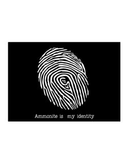 Ammonite Is My Identity Sticker
