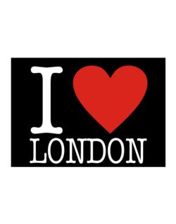 I Love London Classic Sticker