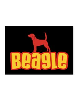 Breed Color Beagle Sticker