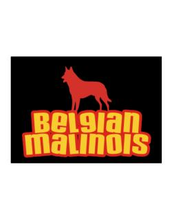 Breed Color Belgian Malinois Sticker