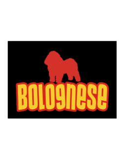 Breed Color Bolognese Sticker