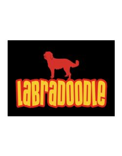 Breed Color Labradoodle Sticker