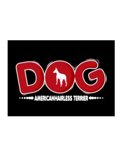 American Hairless Terrier / Silhouette - Dog Sticker