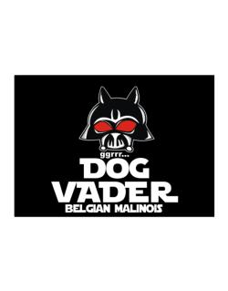 Dog Vader : Belgian Malinois Sticker