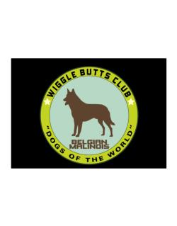 Belgian Malinois - Wiggle Butts Club Sticker