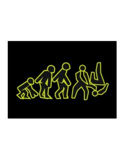 Evolution - Aikido Sticker