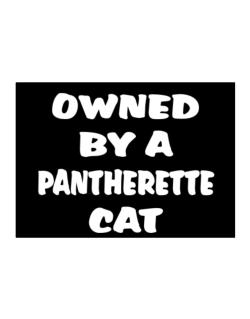 Owned By S Pantherette Sticker
