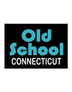 Old School Connecticut Sticker
