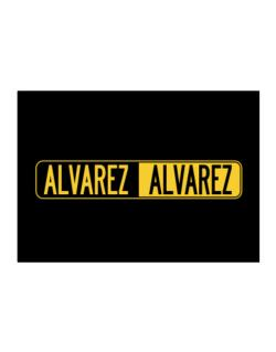 Negative Alvarez Sticker