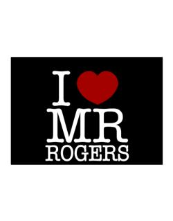 I Love Mr Rogers Sticker