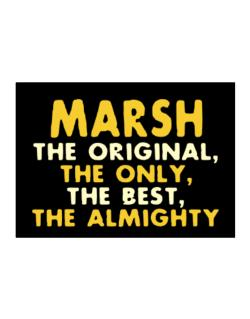 Marsh The Original Sticker