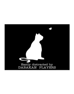 Easily Distracted By Dabakan  players Sticker