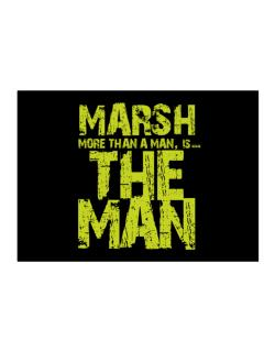 Marsh More Than A Man - The Man Sticker