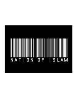 Nation Of Islam - Barcode Sticker
