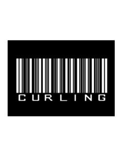 Curling Barcode / Bar Code Sticker
