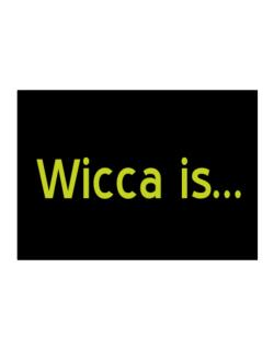 Wicca Is Sticker