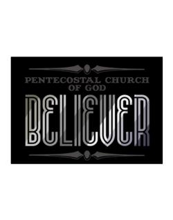 Pentecostal Church Of God Believer Sticker