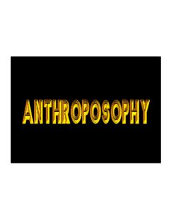 Anthroposophy Sticker