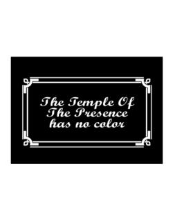 The Temple Of The Presence Has No Color Sticker