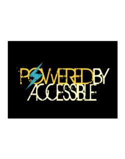 Powered By Accessible Sticker