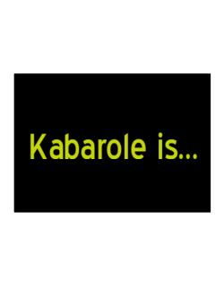 Kabarole Is Sticker