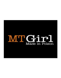 Girl Made In Polson Sticker