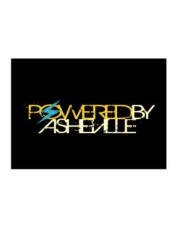Powered By Asheville Sticker
